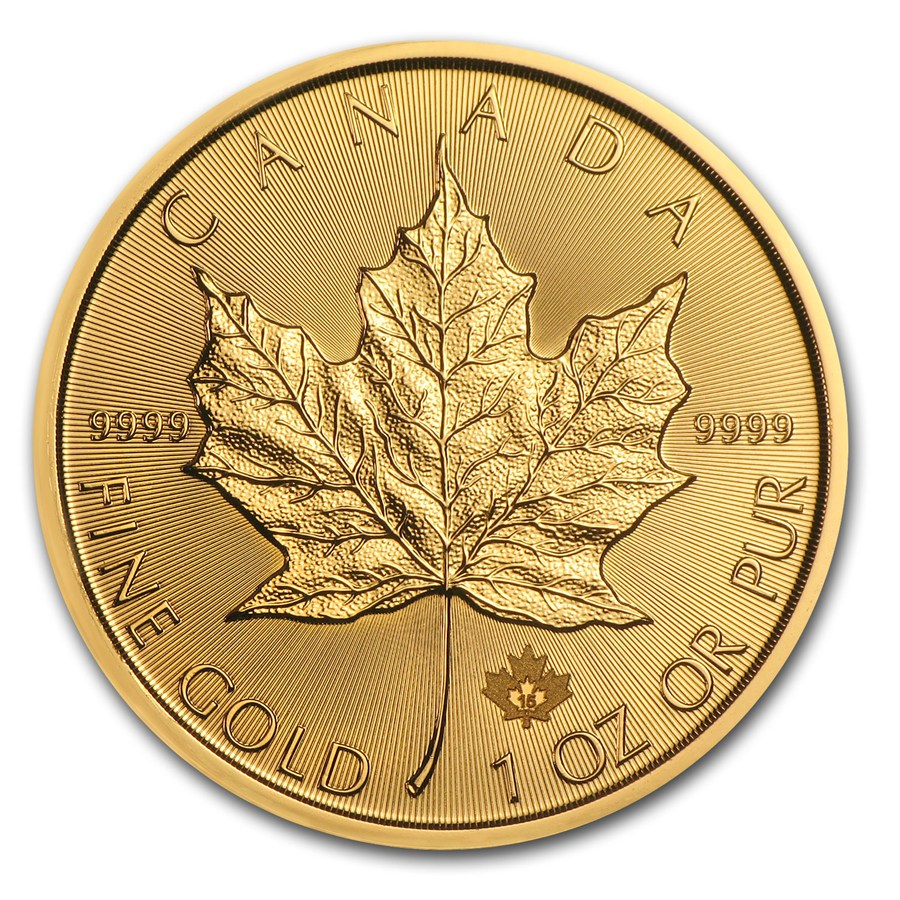 1 oz Canadian Gold Maple BU – Sold Out