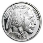 Half Ounce Silver Buffalo Round