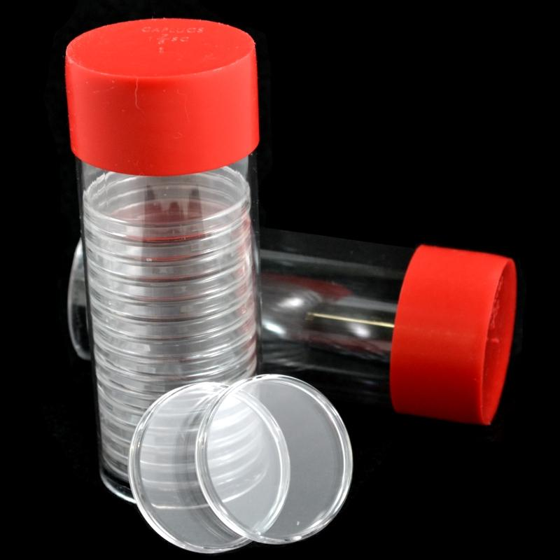 Storage Tubes for Air-Tite Coin Capsules – BACK IN STOCK
