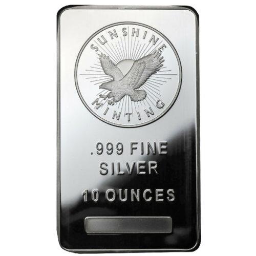Sunshine Mint Silver Bar