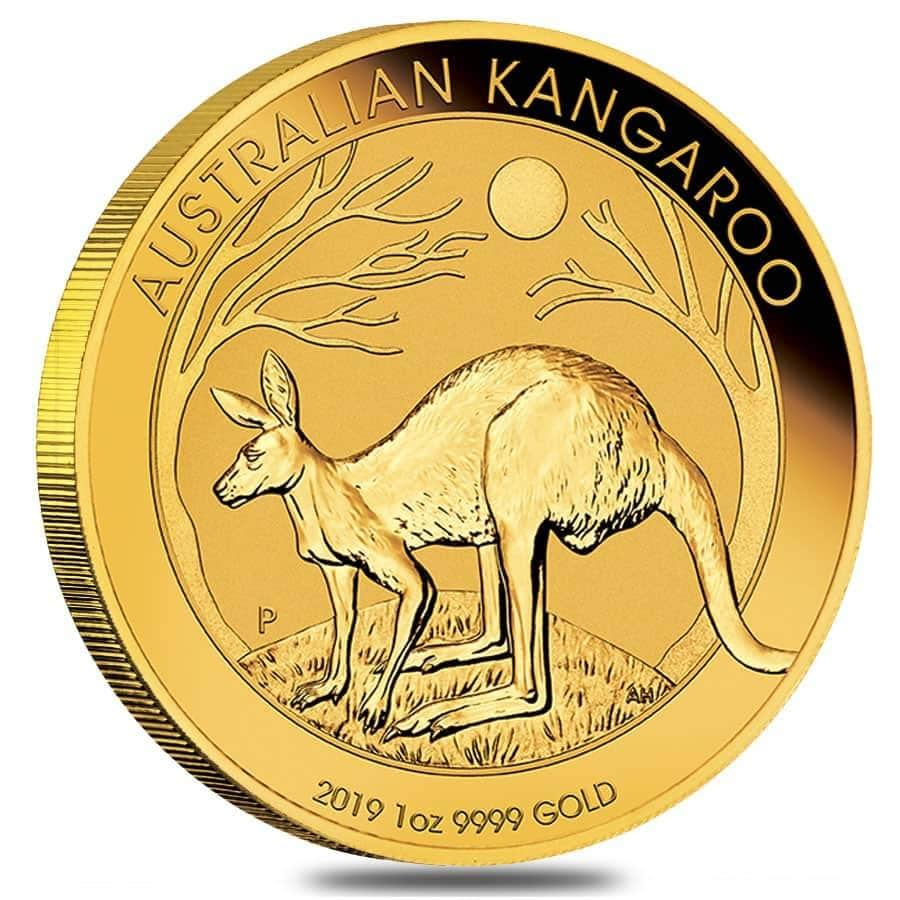 1 oz Australian Gold Kangaroo BU 2019 (Arriving 19 April)