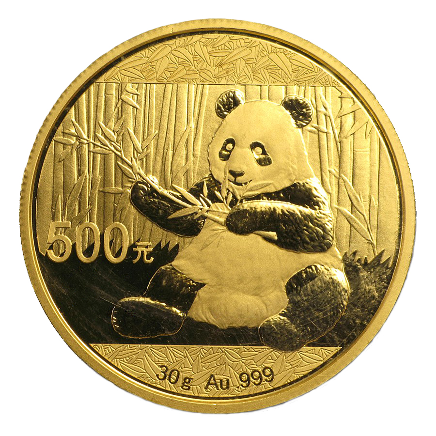 30 g Chinese Gold Panda BU – Coming Soon
