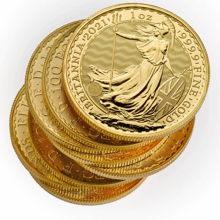 Great Britain Gold Britannia