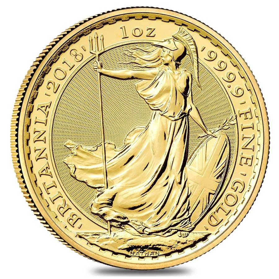 1 oz Great Britain Gold Britannia BU (Sold Out)