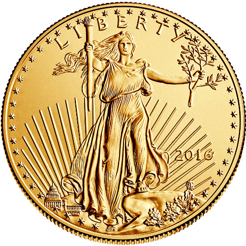 1 oz American Gold Eagle BU
