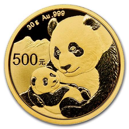 30 g Chinese Gold Panda 2019