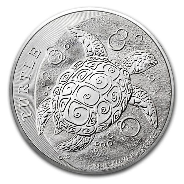 1 oz NZ Niue Hawksbill Turtle BU