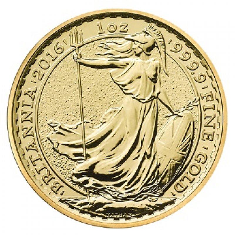 1 oz Great Britain Gold Britannia BU
