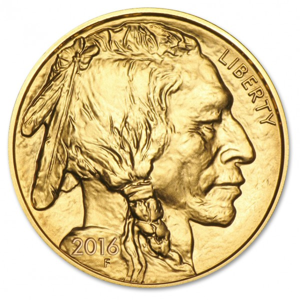 1 oz American Gold Buffalo BU