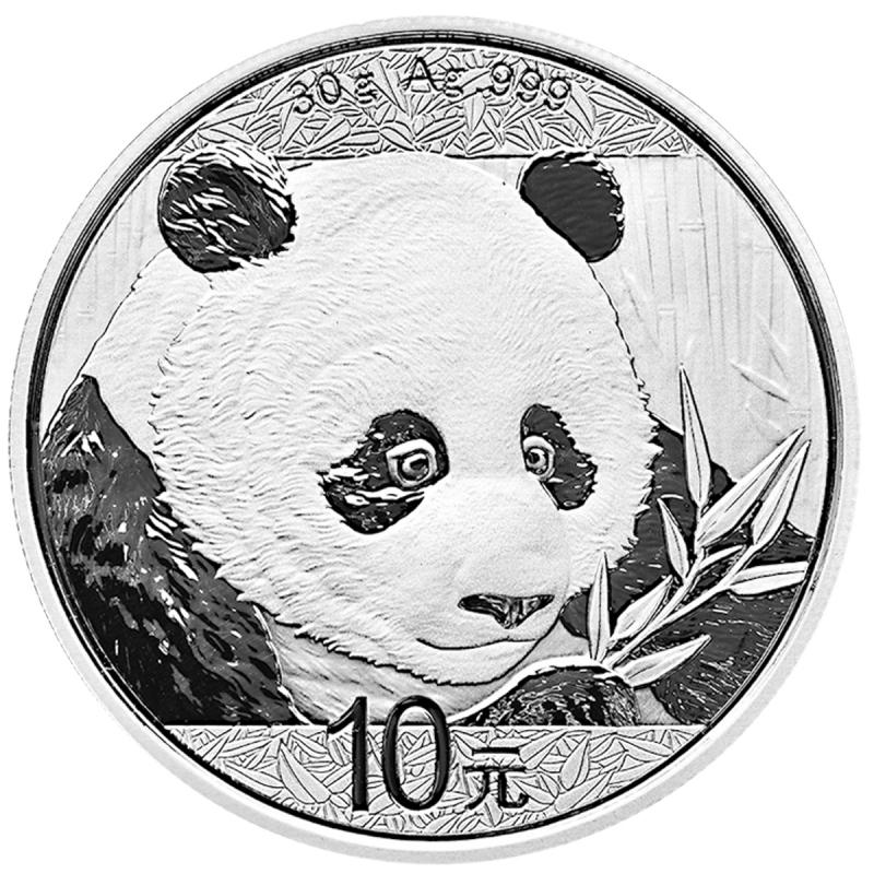 30 gram Chinese Silver Panda BU (2018)