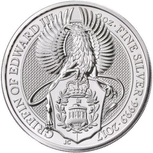 Silver Queen's Beasts