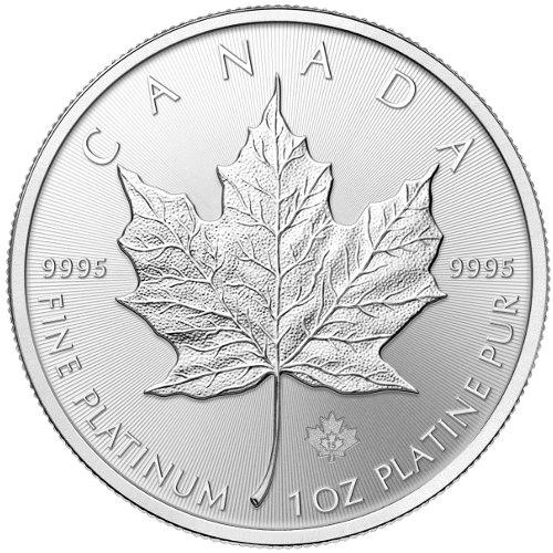 PLATINUM 1 oz Canadian Maple Leaf