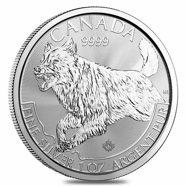 Predator Series (coin 3) – 1 oz Wolf BU (2018) – Arriving 18 Feb