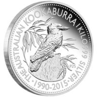 Australian Kookuburra Kilo Silver Bullion Coin