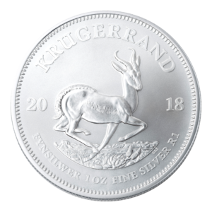 1 oz South African Silver Krugerrand