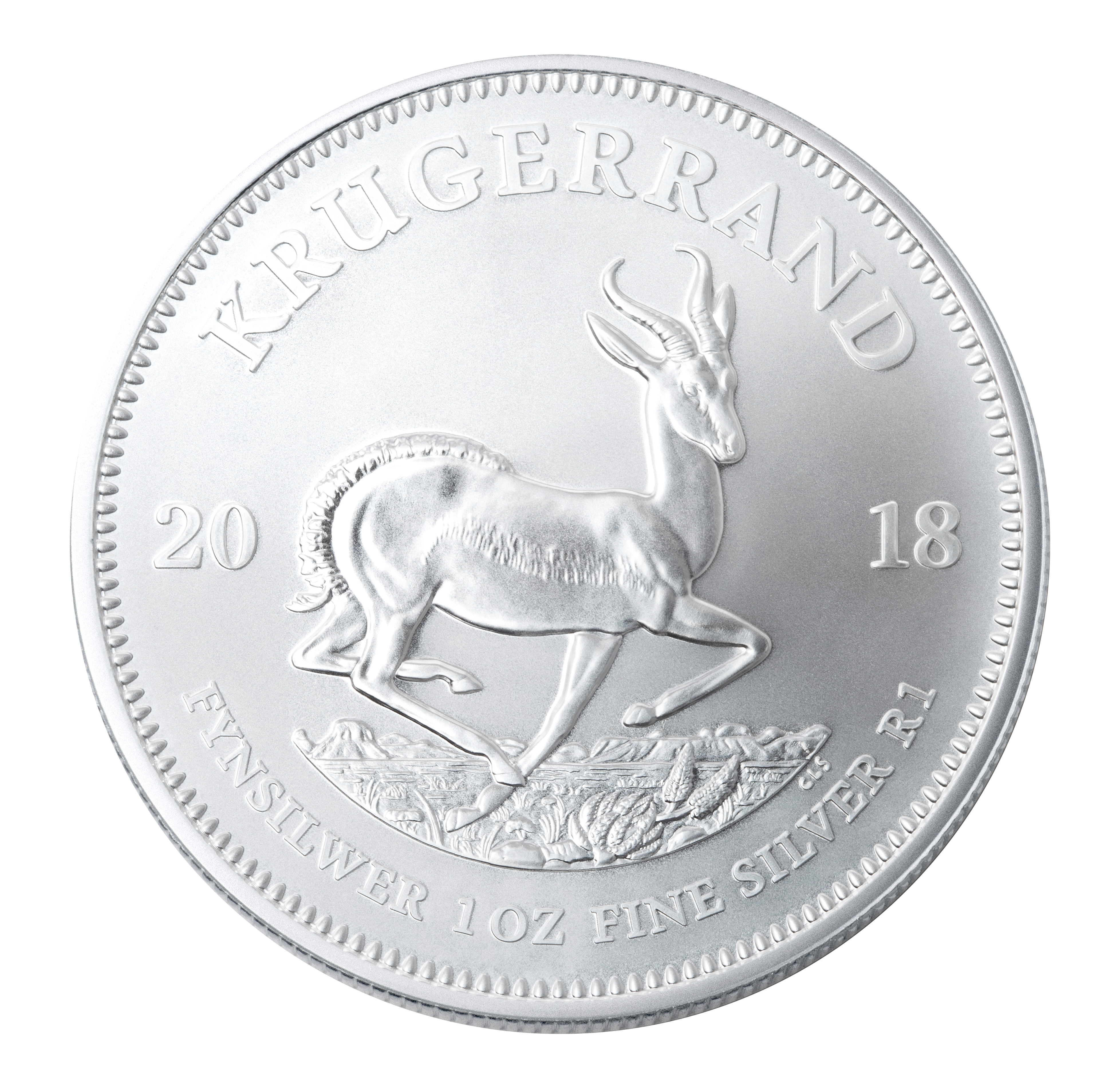 1 oz South African Silver Krugerrand (OUR BEST SELLING BULLION COIN)