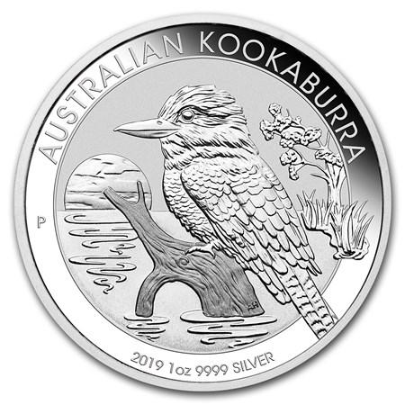 1 oz Australian Silver Kookaburra BU (2019) Arriving 19 April