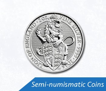 Semi-numismatic Coins (Past Years)