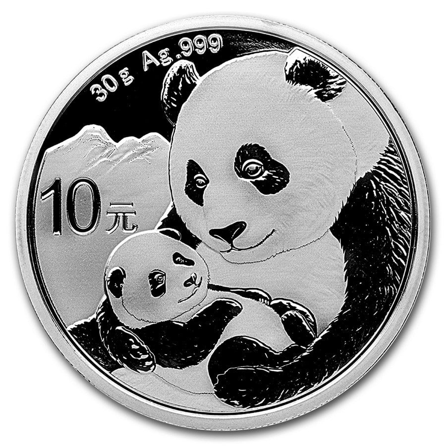 30 gram Chinese Silver Panda BU 2019 (Arriving 10 June)