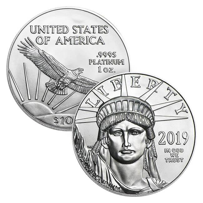 1 oz American Platinum Eagle 2019 (Arriving 19 April)