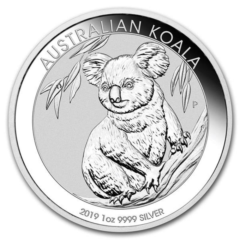 1 oz Australian Silver Koala BU (2019)