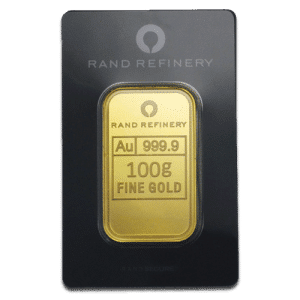 Minted Gold Bar 100grams