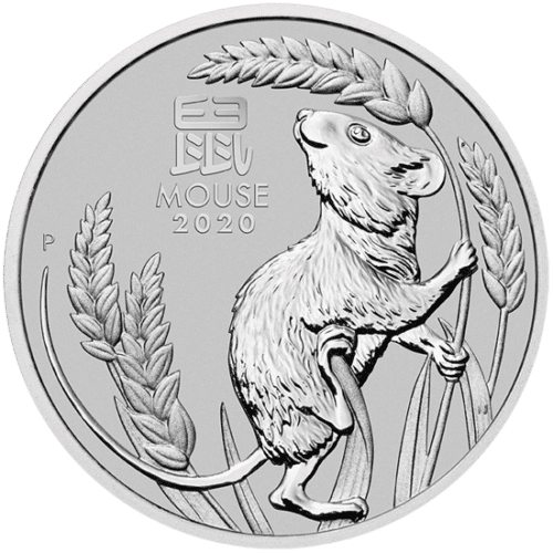 Lunar III - 1 ozPlatinum Year of the Mouse