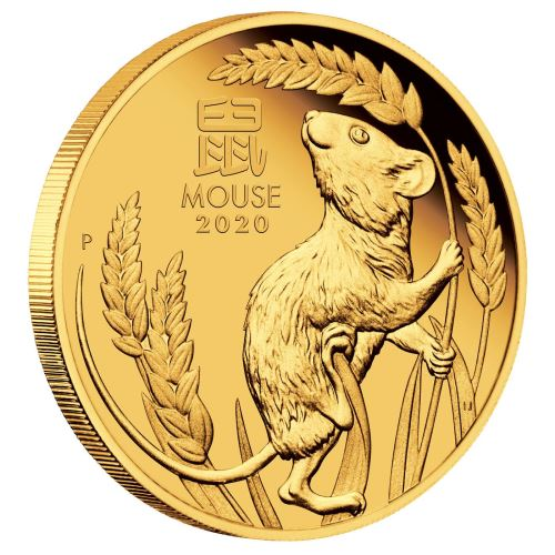 Year of the Mouse Coin