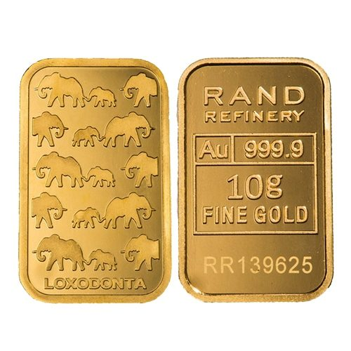 Minted Gold Bars