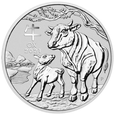 1kg Silver Year of the Ox