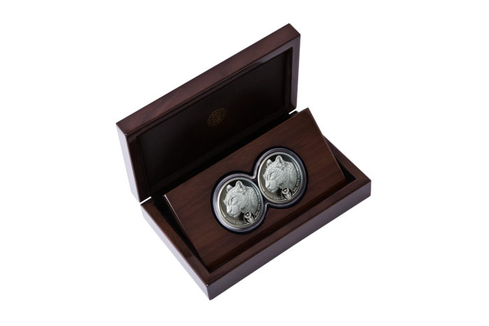Leopard Double Coin Set