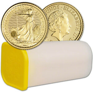 1/10 oz Great Britain Gold Britannia BU 2021