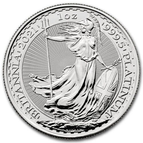 1 oz PLATINUM British Britannia 2021