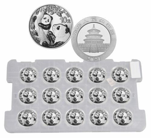 2021 Chinese Silver Panda 30 grams