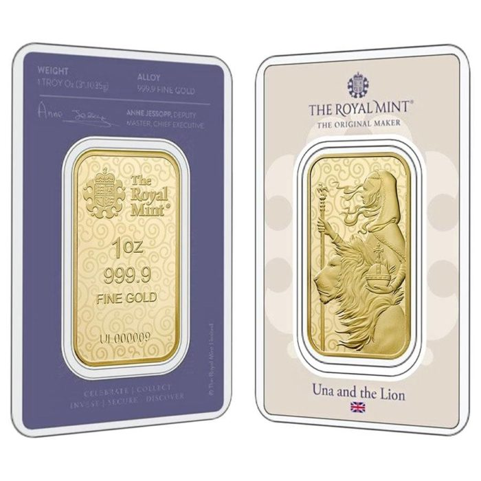 1 oz Gold Una and the Lion (First in Series)